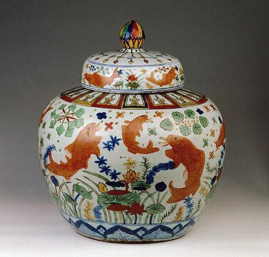 Wucai Pottery